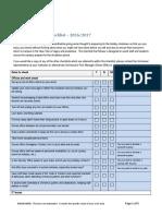 Holiday Shutdown Checklist