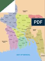Bangladesh Districts Map