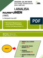 Flexible Pavement-bina Marga ( Metoda Analisa Komponen )