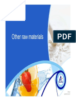 Other Raw Materials June 2013