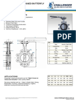 Stainless Steel Butterfly Valve Lugged DN50-DN200 Data Sheet