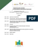 AGENDA - Predstavljanje Sistema Za E-dozvole, Kragujevac, 10.Decembar 2015.