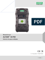 ALTAIR 5X PID Operating Manual - ES.pdf