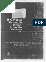 Taller De Prevencion De Lesiones De Espalda - Ergonomia Postural copiar a word .pdf