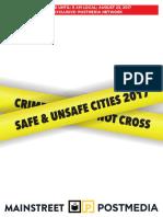 Mainstreet - Safe and Unsafe Cities 2017