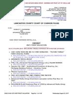 CASE NO. 17-CI-08-13373 EXHBIT re THE STAN J. CATERBONE ANTI-TRUST VALUATION August 21, 2017 Ver. 2.0.pdf