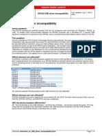Instruction en USB Driver Incompatibility