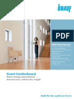 Comfortboard Brochure