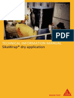 SikaWrap Dry Application 2016 Technical Information Manual UK