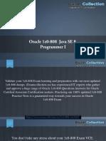 1z0-808 - All Exam Dumps - 1z0-808 Exam VCE