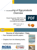 Processing of Egg Products - Overview