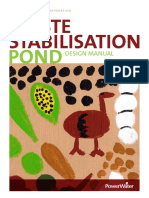 Waste Stabilisation Pond Design Manual