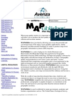 Avenza - Products - MAPublisher Cartography and Mapping Software to Create and Publish Maps From