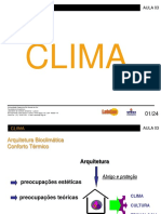 Aula 1 - Clima
