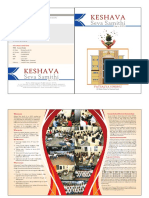 Keshava Seva Samithi Hyderabad  New Building Brochure.
