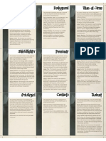 Symbaroum Ability Reference Core