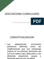 ADECUACIONES CURRICULARES