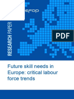 CEFEDOF.guide to Anticipate Future Skill Needs In