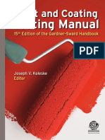 Paint & Coating Testing Manual