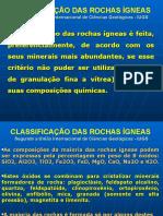 Classificação Das Rochas Ígneas - Prof Zélia Ufmt - Petrologia Ígnea