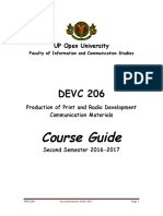 DEVC206 Course Guide SS2016