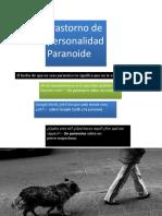 Trastorno Paranoide.ppt