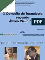 O conceito de tecnologia segundo Álvaro viera Pinto