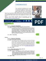resume - media content spec