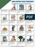 Passive Voice Simple Present Tense Esl Exercises Worksheet