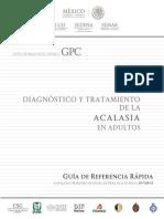 RR Diagnóstico y Tratamiento de La Acalasia en Adultos