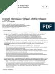 LIEP Program - School of Continuing Studies