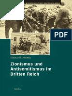Zionismus Und Antisemitismus Im Dritten Reich - Francis Nicosia