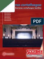 Cortinas Cortafuegos Textiles FIBERSHIELD-P