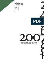 MS Jaarverslag 2007