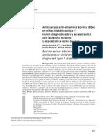 ANTICUERPOS ANRI-ALBUMINA BOVINA EN NIÑOS DIABETICOS TIPO 1 RECIEN DIAGNOSTICADOS Y SU ASOCIACION CON LACTANCIA MATERNA.pdf