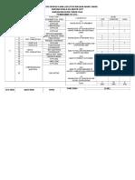 Contoh Jadual Spesifikasi Ujian Bahasa Inggeris Tahun 3-Kertas 1 (013)