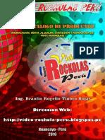 Catalogo Video Rockolas Peru