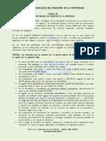 Tabla de Aranceles Del Registro de La Propiedad (1)