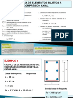 2.1 Columnas Cortas