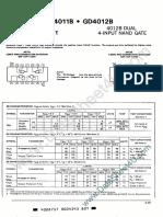 GD4011B Hynix Semiconductor