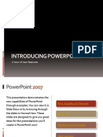 Introducing PowerPoint 2007 Main
