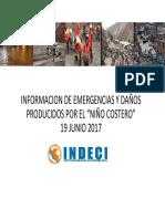 Daños Producidos Por El Niño Costero - INDECI