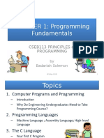 ch1 programming