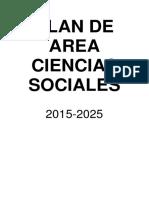 Plan de Área Ciencias Sociales
