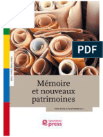 Memoria e Novos Patrimonios