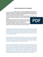 El Desabastecimiento Alimenticio en Colombia (1)