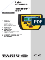 Manual de Instrucciones Escaner Vdv501