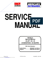 Mercury 20 25 Marathon Seapro Service Manual
