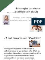 Técnicas y Estrategias para tratar con niños difíciles.pptx