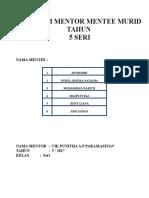 PROGRAM MENTOR MENTEE MURID TAHUN.doc